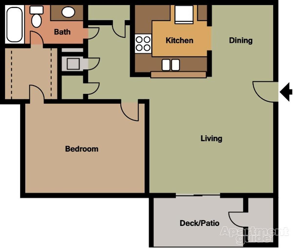 Autumn Wood Apartments: Apartment In Huntsville, AL